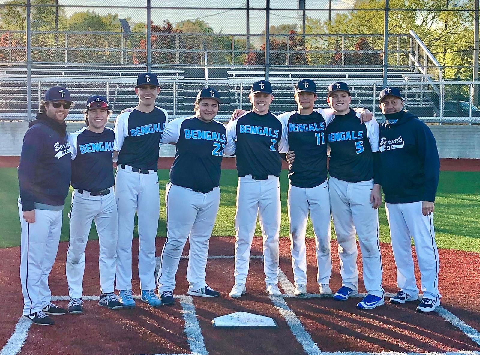 Varsity Baseball Celebrates Senior Night with a Win