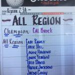 All Region Mustang Golfers