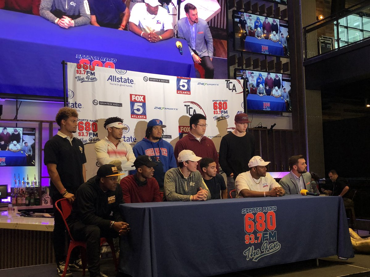 Milton Players Participate in Signing Day