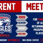 Baseball Parent Meeting – 9/18