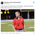 Congrats Coach Clack