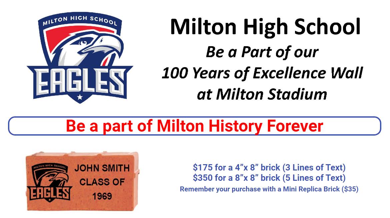 Milton HS – 100 Year Memory Wall