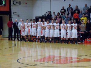 Varsity Boys Basketball vs. North White