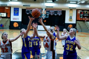 Pics of Girls JV Basketball vs. New Buffalo 1/14/17