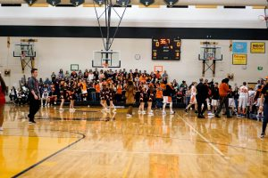 Pics of Boys PCC Basketball Tourney Finals vs. Hebron 1/21/17