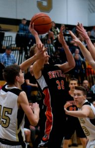 Pics of Boys JV Basketball vs. Argos 1/27/17