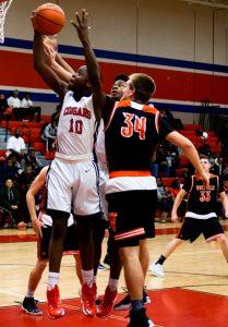 Pics of Boys Varsity Basketball vs. 21st Century 2/3/17