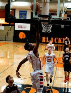 Pics of Boys Varsity Basketball vs. Lake Station 2/8/17