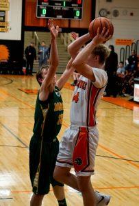 Pics of Boys JV Basketball vs. Morgan Township 2/17/17