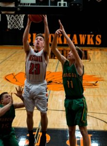 Pics of Boys Varsity Basketball vs. Morgan Township 2/17/17