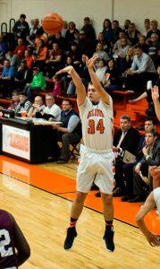 Pics of Boys Varsity Basketball vs. Culver 2/21/17