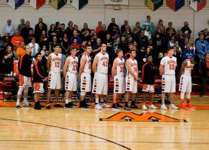 Pics of Boys Varsity Basketball vs. South Central 2/24/17
