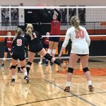 Volleyball Drops Tight One to Calumet Christian