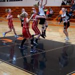 Middle School Girls Split Against South Central