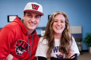 Kincade and Steinke Signing Day