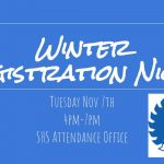 Winter Registration Night