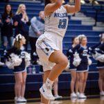 Girls Varsity Basketball falls to Churchill 40 – 36