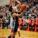 Boys Varsity Basketball falls to Thurston 45 – 33