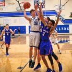 Boys Varsity Basketball falls to Churchill 60 – 48