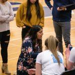Girls Varsity Basketball beats Churchill 50 – 44