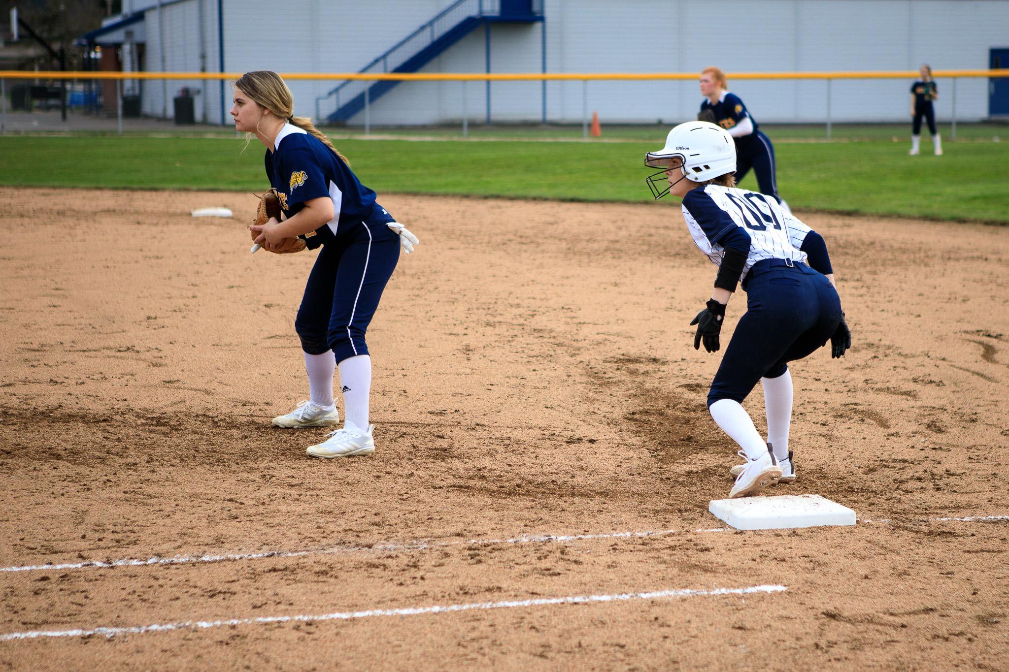 Girls Varsity Softball falls to Pleasant Hill 20 – 4