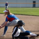 Girls Varsity Softball falls to Churchill
