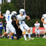 Boys Varsity Football beats Eagle Point 27 – 20 in Overtime