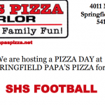 Football: Papa's Pizza Fundraiser