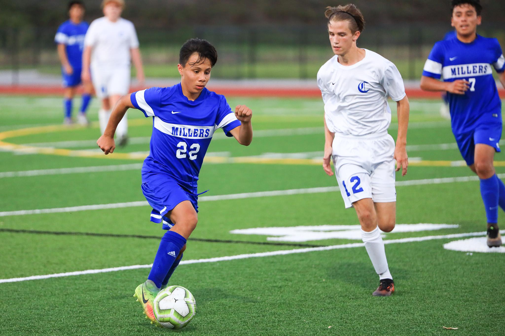 Boys Varsity Soccer falls to Churchill 2 – 1