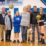 Volleyball Senior Day