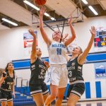 Girls Varsity Basketball beats North Salem 53 – 41