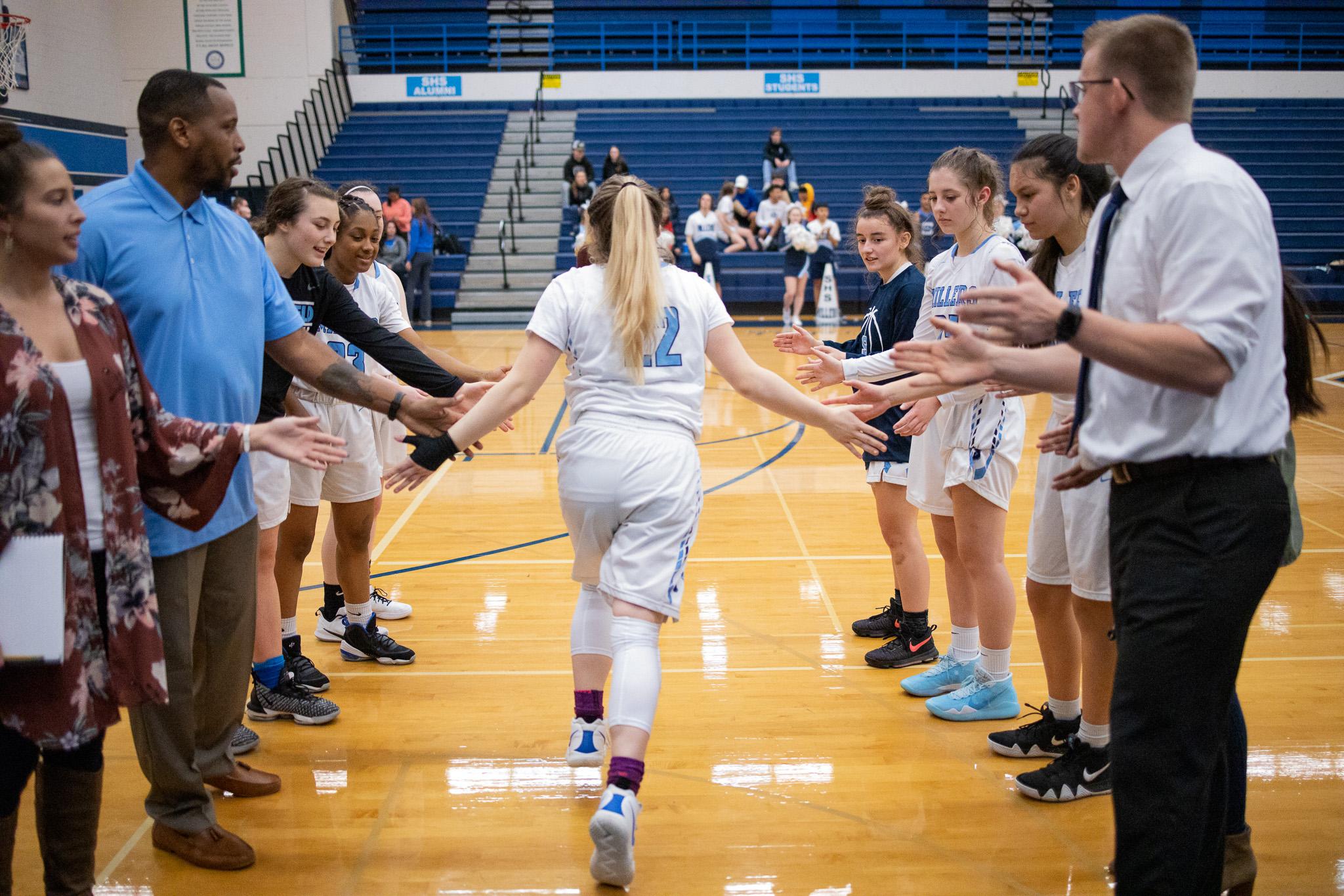 Girls Varsity Basketball falls to Ashland 58 – 55