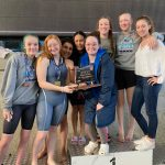 Girls Swimming Wins First Team Trophy in 33 Years