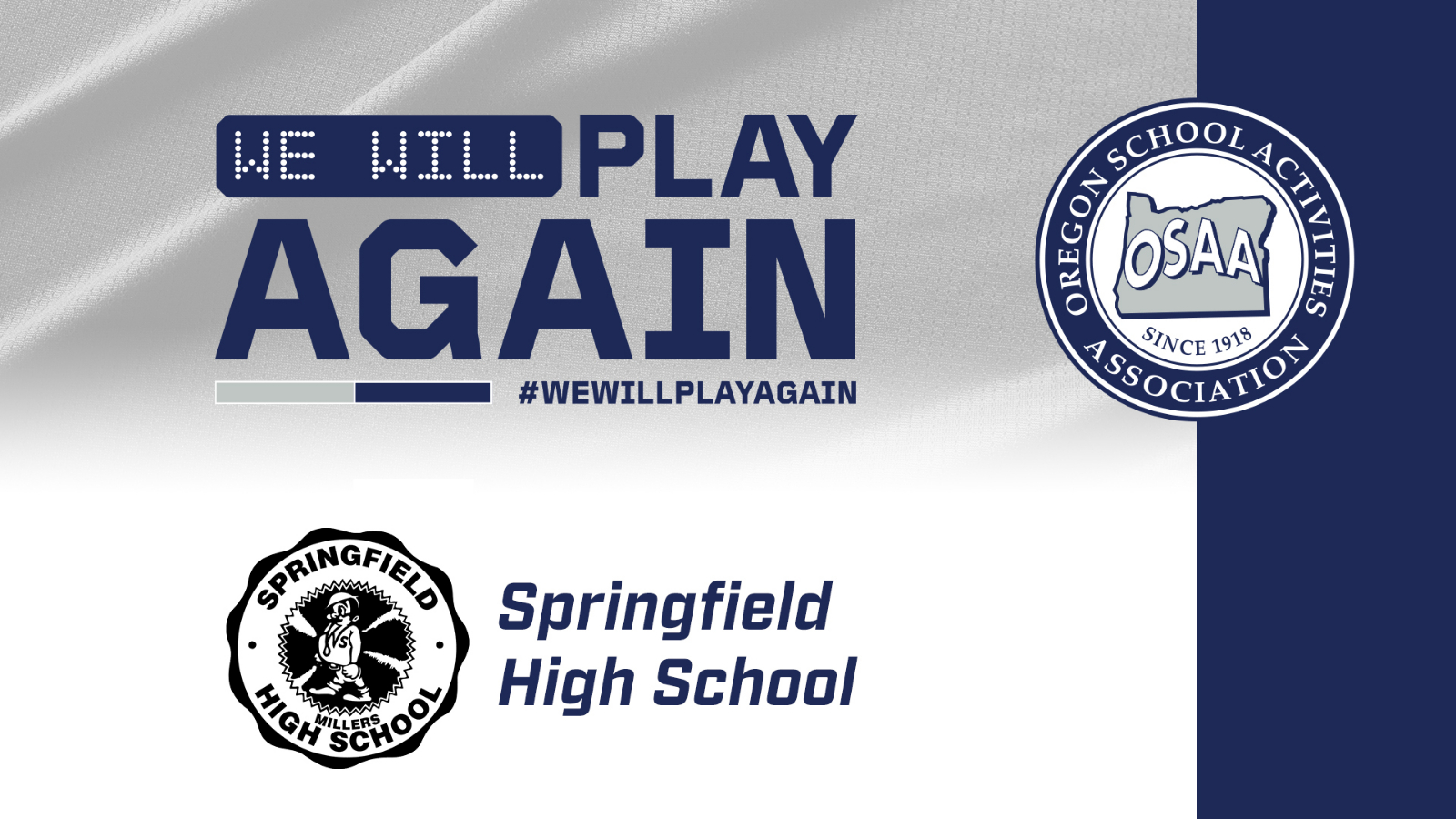 Today, Tomorrow, Next month, Next Year. #WeWillPlayAgain