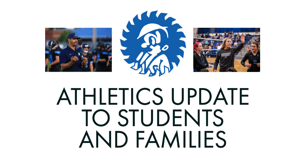 Athletics Update to Students and Families