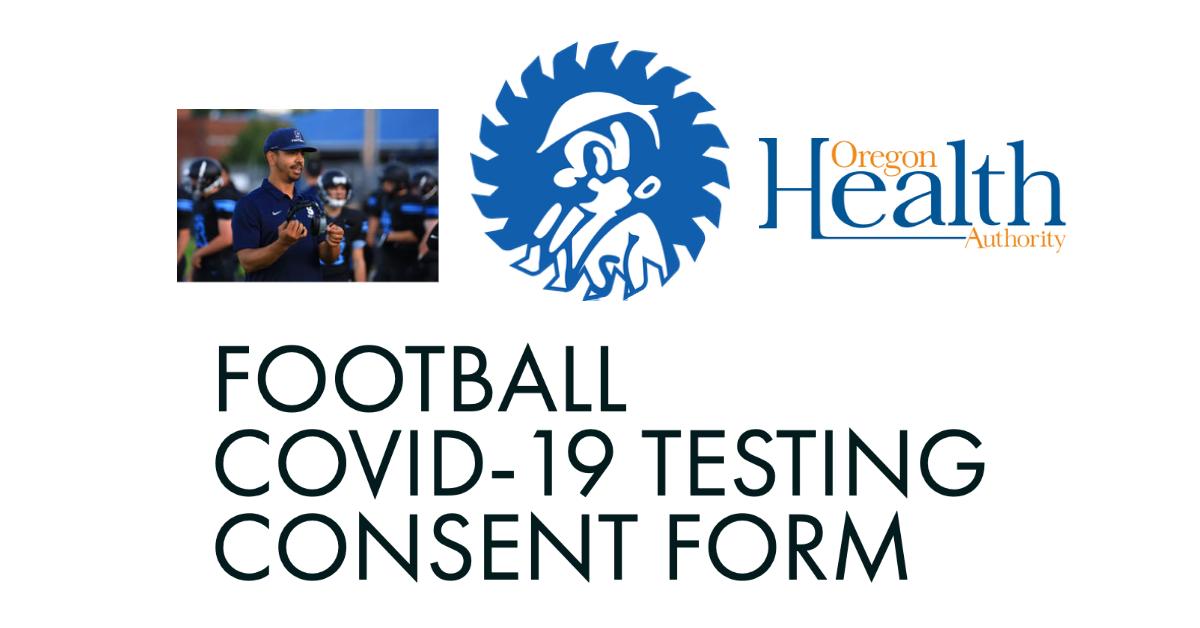 Football: COVID-19 Testing Consent