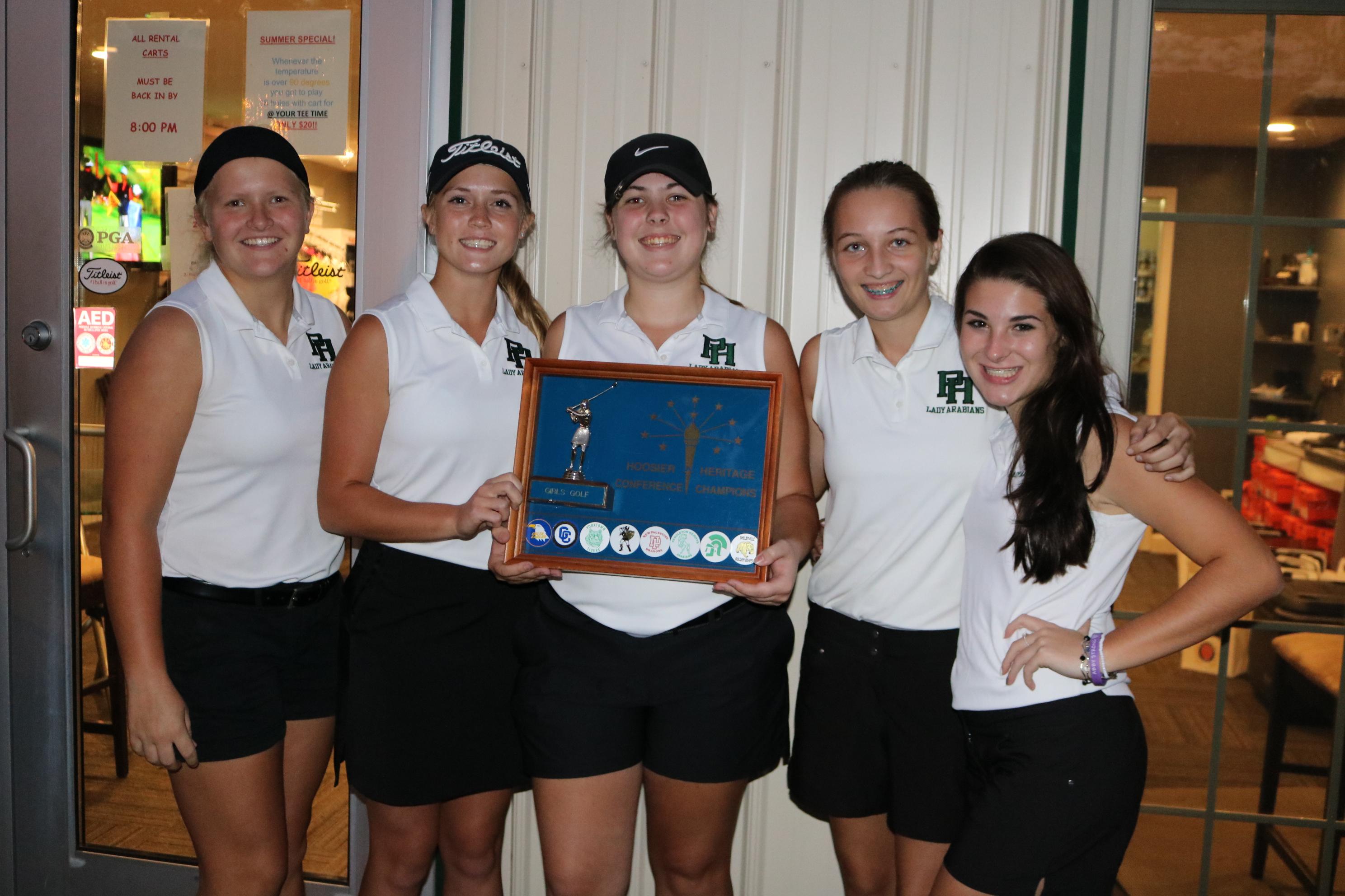 Girls Varsity Golf Wins HHC Championship