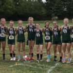 Girls Varsity Cross Country finishes 4th place at Noblesville High School