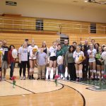 Girls Varsity Volleyball beats Alexandria-Monroe 3 – 0 on Senior Night