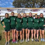 Girls Cross Country advances to the New Haven Semi-State placed 3rd at Regional