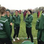 Lady Arabian Cross Country finishes 12th at the New Haven Semi-State