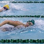 Girls Swimming and Diving Wins Close Contest With Conference Rival Greenfield Central