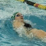 Lady Arabian Swimmers and Divers dominate against conference rival Mt. Vernon