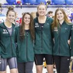 Swim and Dive Team had Record-Breaking Sectional; 400 Free Relay Advances to State