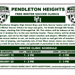 Soccer Offering Free Clinics