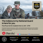 National Guard and Pizza Hut Teaming Up for Free Lunch