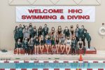 CONFERENCE CHAMPS: Lady Arabian Swimmer & Divers bring home the HHC trophy
