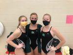Lady Arabian Divers Score Key Points on the First Day of Conference Championships