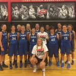 LCHS GIRLS BBALL visits WKU
