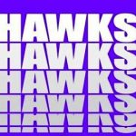 HAWKS USE BIG PLAYS TO GET FIRST WIN OF THE SEASON